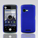 Coque Motorola XT502 Filet Plastique Etui Rigide - Bleu