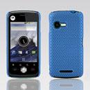 Coque Motorola XT502 Filet Plastique Etui Rigide - Bleue Ciel