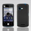 Coque Motorola XT502 Filet Plastique Etui Rigide - Noire