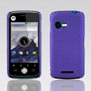 Coque Motorola XT502 Filet Plastique Etui Rigide - Pourpre