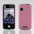 Coque Motorola XT502 Filet Plastique Etui Rigide - Rose