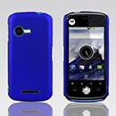 Coque Motorola XT502 Plastique Etui Rigide - Bleu