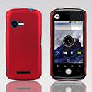 Coque Motorola XT502 Plastique Etui Rigide - Rouge