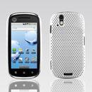 Coque Motorola XT800 Filet Plastique Etui Rigide - Blanche