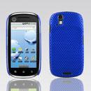 Coque Motorola XT800 Filet Plastique Etui Rigide - Bleu