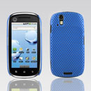 Coque Motorola XT800 Filet Plastique Etui Rigide - Bleue Ciel