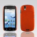 Coque Motorola XT800 Filet Plastique Etui Rigide - Orange