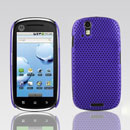 Coque Motorola XT800 Filet Plastique Etui Rigide - Pourpre