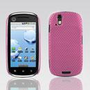 Coque Motorola XT800 Filet Plastique Etui Rigide - Rose
