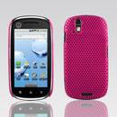 Coque Motorola XT800 Filet Plastique Etui Rigide - Rose Chaud