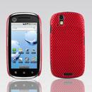 Coque Motorola XT800 Filet Plastique Etui Rigide - Rouge