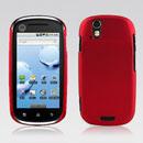 Coque Motorola XT800 Plastique Etui Rigide - Rouge