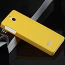 Coque Nokia 515 N515 Plastique Etui Rigide - Jaune