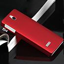 Coque Nokia 515 N515 Plastique Etui Rigide - Rouge