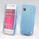 Coque Nokia 5230 Filet Plastique Etui Rigide - Bleu