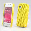 Coque Nokia 5230 Filet Plastique Etui Rigide - Jaune