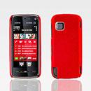 Coque Nokia 5230 Xpress Music Plastique Etui Rigide - Rouge