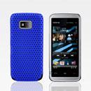 Coque Nokia 5530 Filet Plastique Etui Rigide - Bleu
