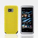 Coque Nokia 5530 Filet Plastique Etui Rigide - Jaune
