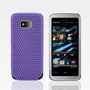 Coque Nokia 5530 Filet Plastique Etui Rigide - Pourpre