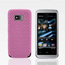 Coque Nokia 5530 Filet Plastique Etui Rigide - Rose