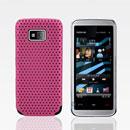 Coque Nokia 5530 Filet Plastique Etui Rigide - Rose Chaud