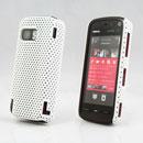 Coque Nokia 5800 Filet Plastique Etui Rigide - Blanche