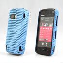 Coque Nokia 5800 Filet Plastique Etui Rigide - Bleu