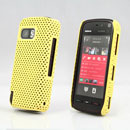 Coque Nokia 5800 Filet Plastique Etui Rigide - Jaune