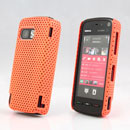 Coque Nokia 5800 Filet Plastique Etui Rigide - Orange