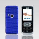 Coque Nokia 6120 Filet Plastique Etui Rigide - Bleu