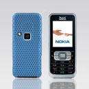 Coque Nokia 6120 Filet Plastique Etui Rigide - Bleue Ciel