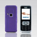 Coque Nokia 6120 Filet Plastique Etui Rigide - Pourpre