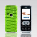 Coque Nokia 6120 Filet Plastique Etui Rigide - Verte