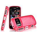 Coque Nokia 808 Pureview Silicone Gel Housse - Rose Chaud