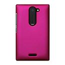 Coque Nokia Asha 502 Plastique Etui Rigide - Rose Chaud