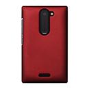 Coque Nokia Asha 502 Plastique Etui Rigide - Rouge
