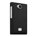 Coque Nokia Asha 503 Plastique Etui Rigide - Noire