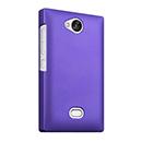 Coque Nokia Asha 503 Plastique Etui Rigide - Pourpre