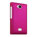 Coque Nokia Asha 503 Plastique Etui Rigide - Rose Chaud