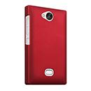 Coque Nokia Asha 503 Plastique Etui Rigide - Rouge