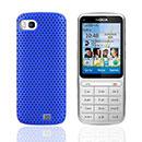 Coque Nokia C3-01 Filet Plastique Etui Rigide - Bleu