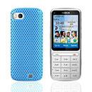 Coque Nokia C3-01 Filet Plastique Etui Rigide - Bleue Ciel