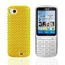 Coque Nokia C3-01 Filet Plastique Etui Rigide - Jaune