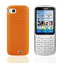 Coque Nokia C3-01 Filet Plastique Etui Rigide - Orange