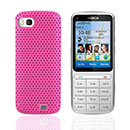 Coque Nokia C3-01 Filet Plastique Etui Rigide - Rose Chaud