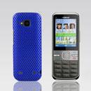 Coque Nokia C5-00 Filet Plastique Etui Rigide - Bleu