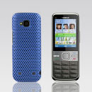Coque Nokia C5-00 Filet Plastique Etui Rigide - Bleue Ciel