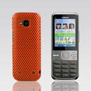 Coque Nokia C5-00 Filet Plastique Etui Rigide - Orange