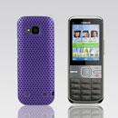 Coque Nokia C5-00 Filet Plastique Etui Rigide - Pourpre